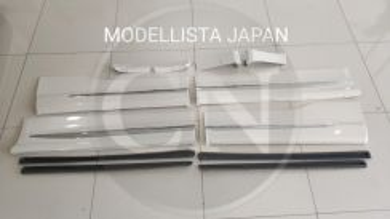 Alphard vellfire modellista japan side panel skirt