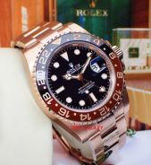 Brand New ROLEX Rootbeer Solid Everose Gold 126715