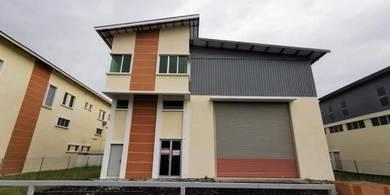 High Ceiling Semi D Light Industrial_Warehouse_Factory_Bukit Minyak