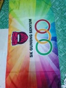 Bendera bendera syarikat sekolah kelab