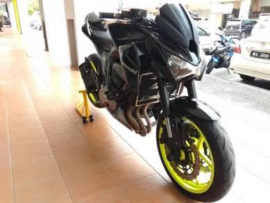 Kawasaki z800 buy1 free1 kedai loan