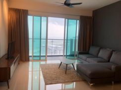 Nicely Renovated Highfloor Seaview Vertiq for Rent