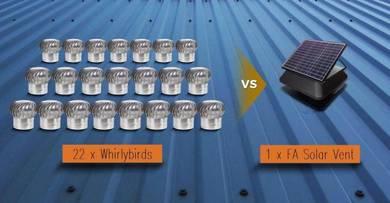 KEDAH >>> FA Solar Power Roof Attic Ventilator Fan