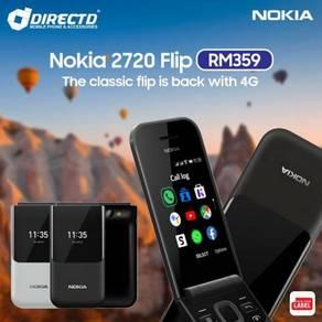 NOKIA 2720 (4G / FLIP PHONE /DUAL SIM)ORI-MYset
