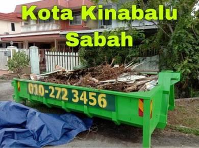 Tong Sampah Garbage Rubbish Dumpster SKIP Bin Sewa