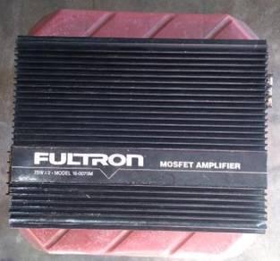 Fultron amplifier