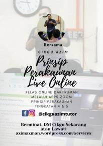 Tutor Prinsip Perakaunan, Tingkatan 4 & 5 - Online