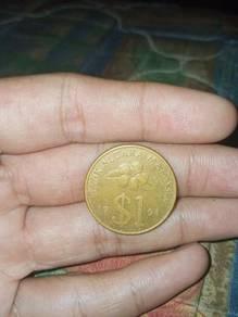 Duit 1 ringgit syiling malaysia