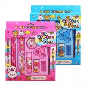 Korean Stationery Set 10 In 1 Birthday Present Gif