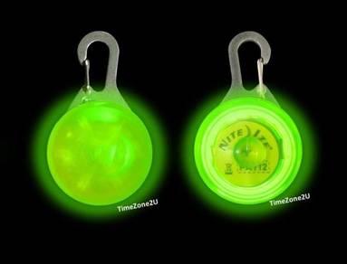 NITE IZE SpotLit Carabiner LED Glow in Dark