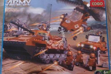 Bricks - CG 3300 Army Action Set blocks