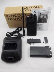 Walkie Talkie Kenwood TK-3107 UHF Full Set