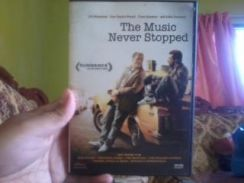 Dvd the music never stopped