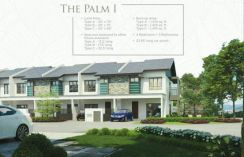New double storey terrace 20x70 house in shah alam