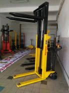 New Branch Opening Electric Stacker Promotion