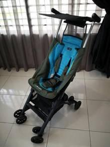 Geoby Pockit CocoLatte Recline Stroller