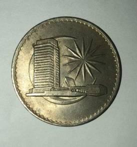Rare (1971) 1 coin Malaysia