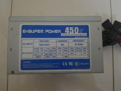 Power supply 450W For Desktop