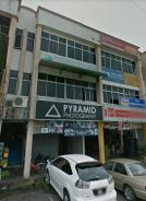 3 Storey Shophouse for Sale, 9th Mile Facing Main Road