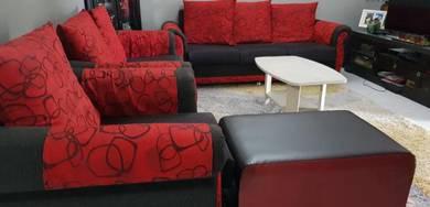 Modern sofa set to let go