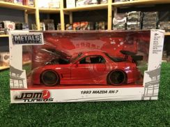 Jada '93 Mazda RX-7 #98677 Gloss Red (1:24)