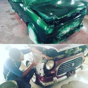 Perkhidmatan menge cat kereta untuk HARI RAYA
