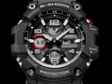 Casio G SHOCK SOLAR MUDMASTER GSG100-1A8 -ORIGINAL