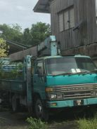 Toyota truck with crane for sale
