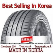 New Tyre 205-45-16 Marshal Tire Made In Korea