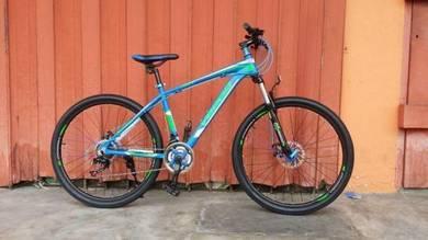 Veego 27.5inch mtb bike blue color 2018