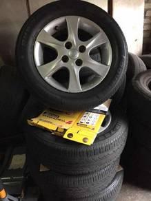 Original mvyi lagi best rim and tyre