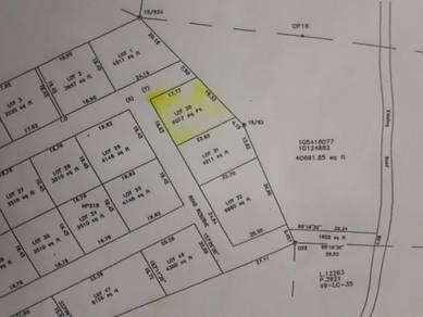 Lot tanah 58x70 untuk dijual