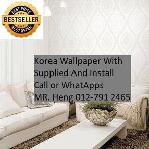 Beautiful In Wall paper with Installation gf8h897