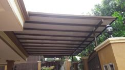 Awning alure carbon roofing