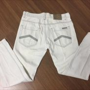 Ax armani exchange jeans cream white original