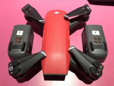 Dji Spark drone Lava Red Combo