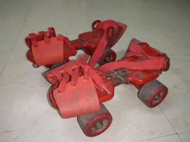 Vintage ROLLER SKATE 80an kasut roda lama