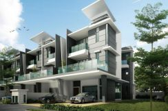 FOR SELL - 3 storey End Lot - Dolomite Templer - Rawang