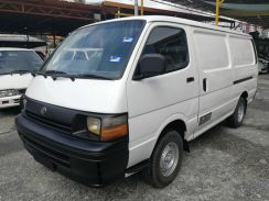 Toyota hiace 2.5 (m) full panel van