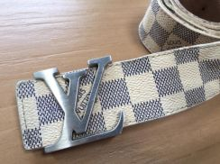 Authentic Louis Vuitton belt made in France