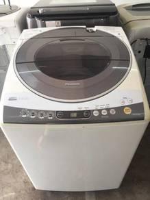 14kg panasonic washing machine mesin basuh top