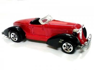 1997 Hot Wheels 1934 AUBURN 852 classic car