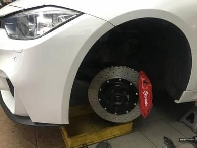 Brembo Ori Refurb Tesla big 4 pot BMW F30 E90
