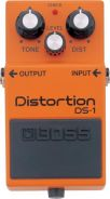 Boss ds1 ds-1 distortion pedal