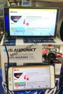 Blaupunkt 2-DIN Car Player Free Reverse Camera