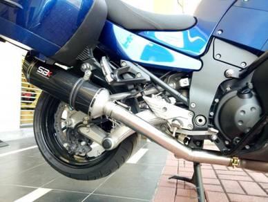 Ekzos Kawasaki GTR1400 SBK Carbon ST Exhaust exzos
