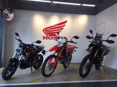 Honda CRF250RLA RALLY (HONDA IMPIAN-X) Easy Loan