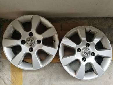 2 Nissan Latio Original Rim