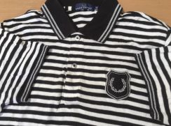 Authentic Fred Perry chrome ringer japan limited