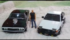 Diecast 1 18 dodge charger ae86